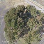 にいがたドローン空撮 城の山古墳(胎内市)