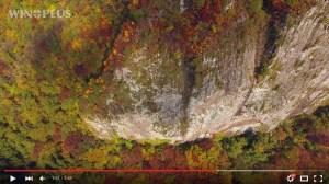 にいがたドローン空撮 紅葉紀行 新潟県三条市八木ヶ鼻 2015.11.01撮影